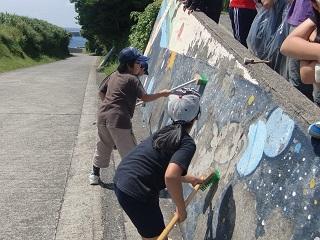 子ども会 壁色ぬり 道路側.jpg