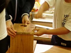 巣箱作り.JPG